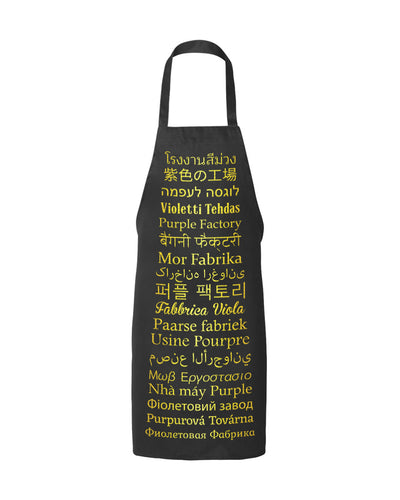 Purple Factory World Wide Apron