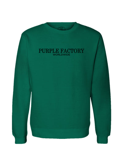 Purple Factory Worldwide Crewneck Sweatshirt