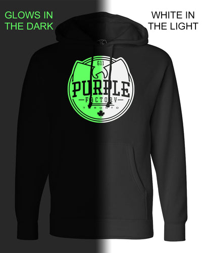 Purple Factory Full Logo Hoodie