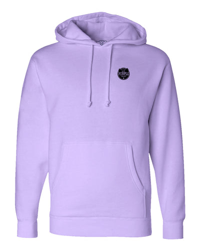 Purple Factory Small Full Logo Hoodie