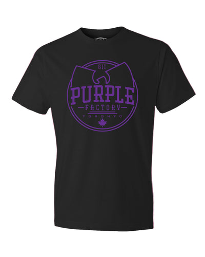 Purple Factory Outline Tee Shirt