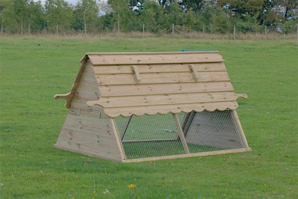 Cherry Acres Chicken Ark – 4 Hens - With Extension