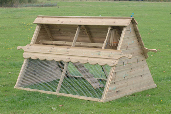 Cherry Acres Chicken Ark – 8 Hens - With Extension