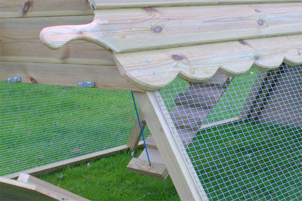 Cherry Acres Chicken Ark – 4 Hens