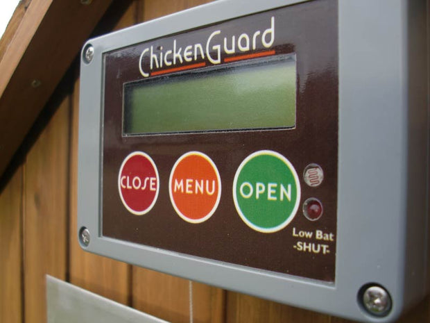 Chicken Guard Automatic Pop Hole Door Opener