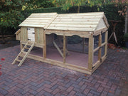 The Acres Cottage Chicken Coop and Run - Large
