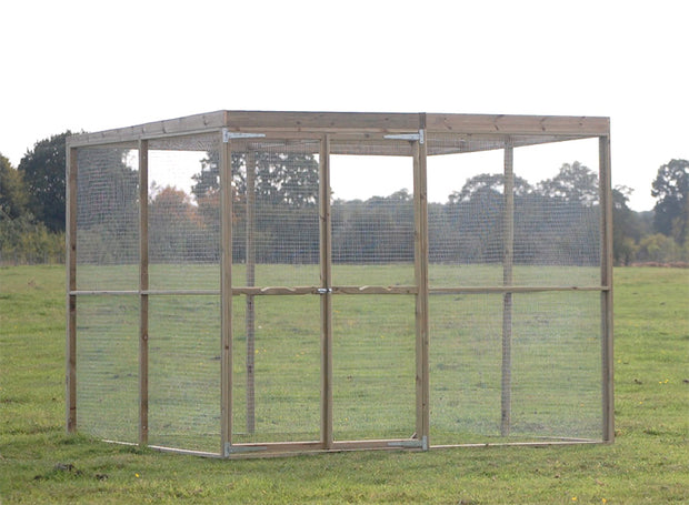 The Cherry Acres Secure Chicken Enclosure