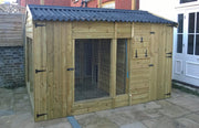 The Glenville Large Outdoor Dog Kennel – 14ft