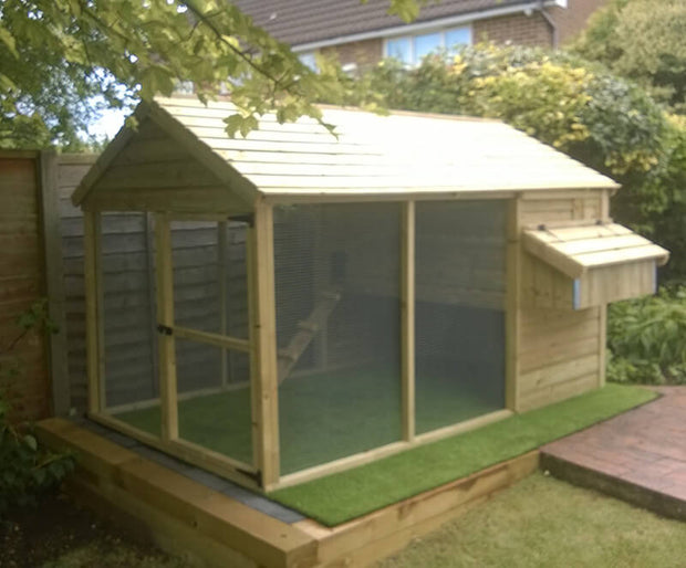 The Mountfield Cat Kennel