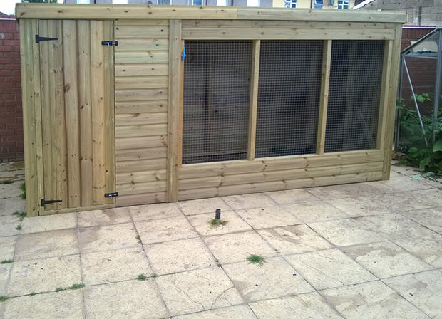 The Edmond Walk in Dog Kennel – 10ft