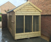 The Warren Lodge Rabbit Shed - Standard - Insulated