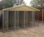 Willow Gun Dog Kennel – Standard - 2 Kennel Bays
