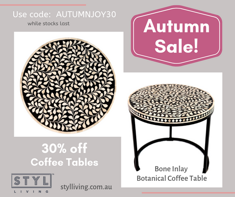 coffee tables table buy discount bone inlay furniture handmade brisbane queensland sydney
