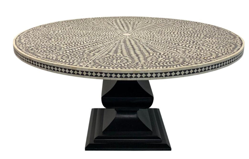 bone inlay dine in table