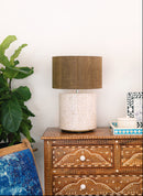 how to dress up bone inlay lamp