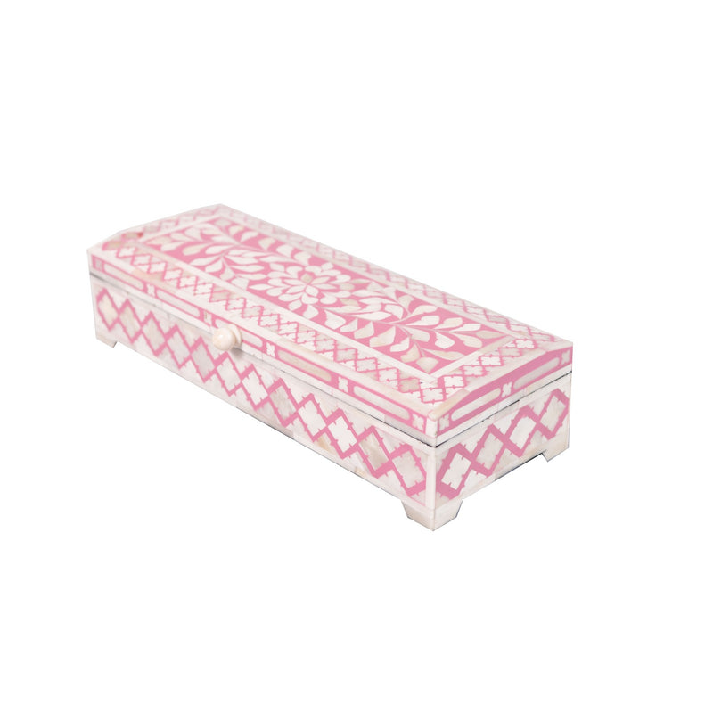 Bone Inlay Diamond Box (PINK)