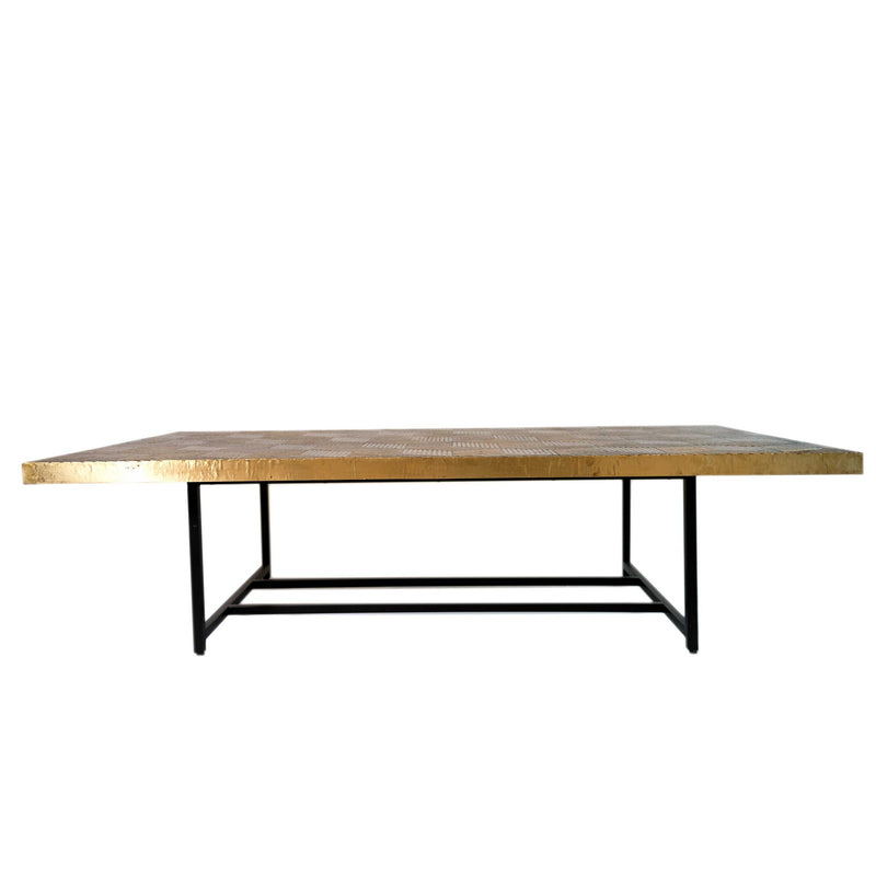 Brass Veneer Coffee Table