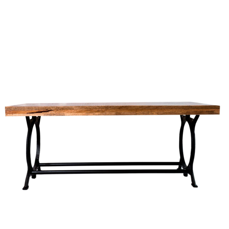 Classic Iron & Wood Table
