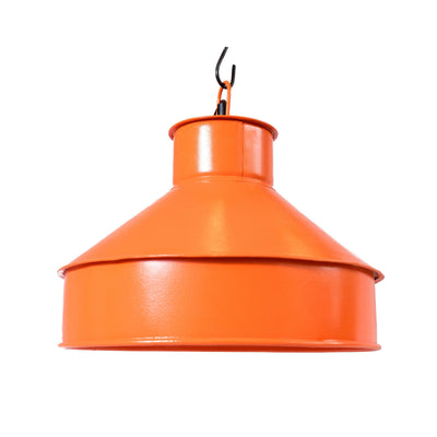 Industrial orange lamp