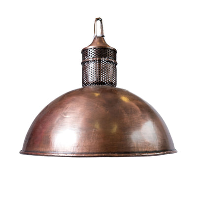 Industrial Small Copper Hanging Lamp