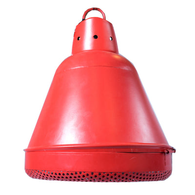 Industrial Red Hanging Lamp