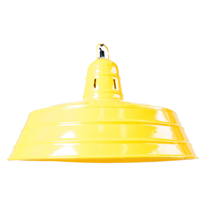 Iron Hanging Lamp - Yellow