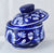 Blue Jaipuri hand made pottery jar