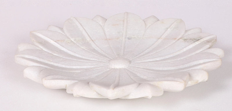 Lotus marble decorative plate( xx large)