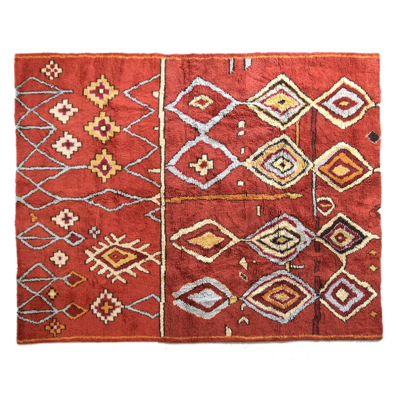 Kilim Wool rug - City of Diamonds