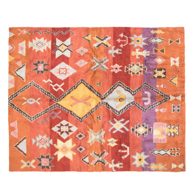 Kilim Wool rug - Orange Tree