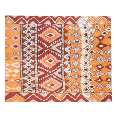 Kilim Wool rug - Rusty Diamonds