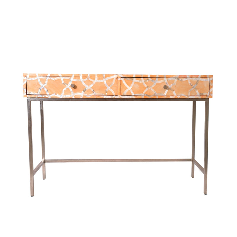Mother of Pearl Inlay Console