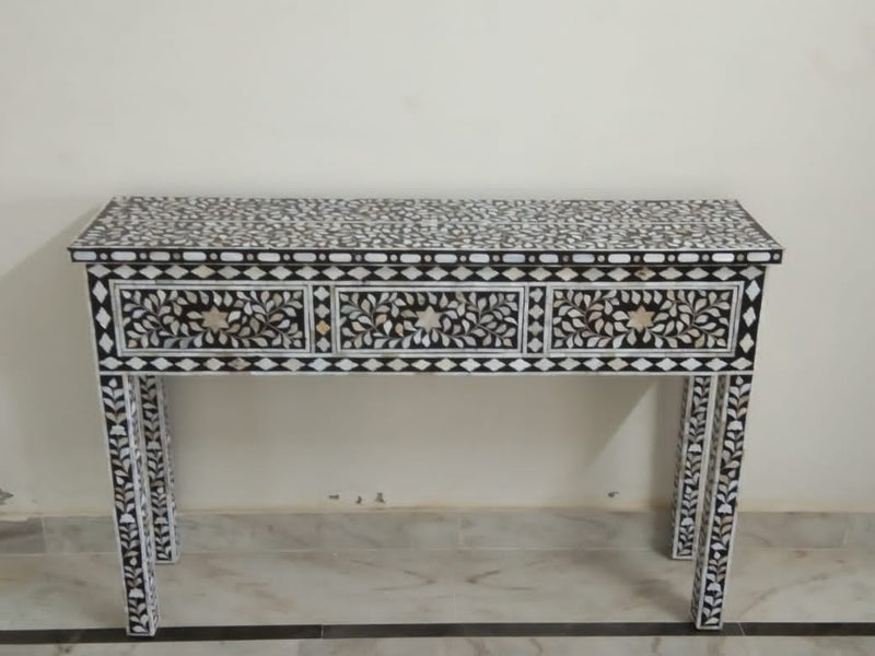 Bone Inlay Bench 3d Console