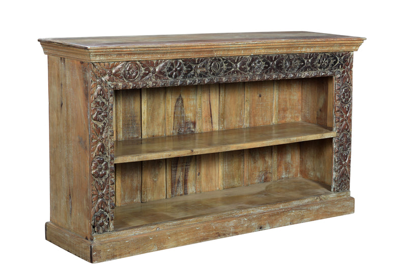 Indian Wooden  Carved Sideboard