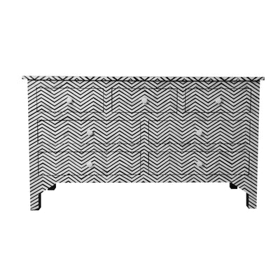 Bone inlay chest drawer -7