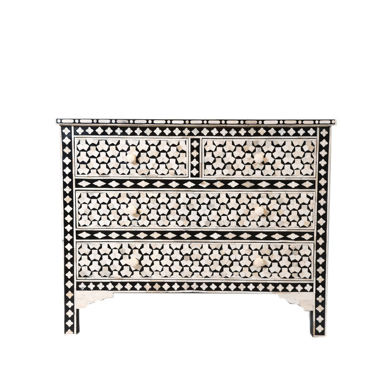 Bone inlay chest drawer -4