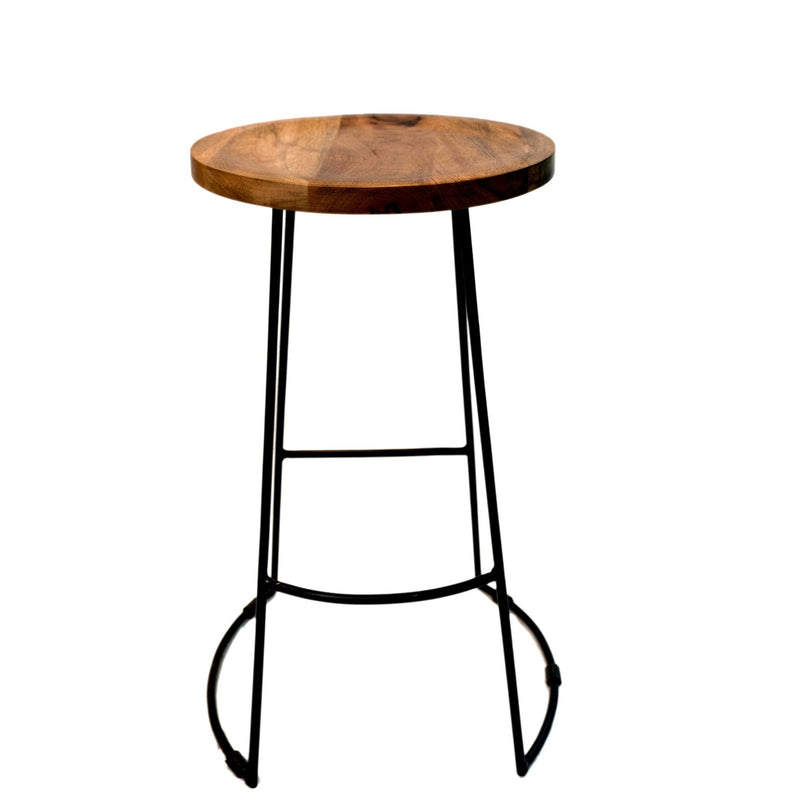 wooded stool