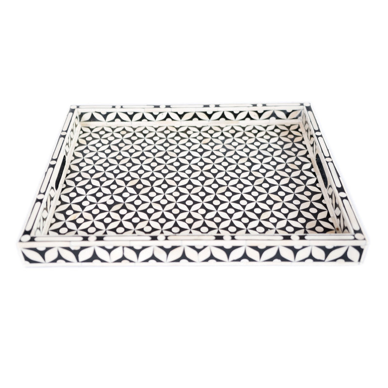 Bone inlay Tray