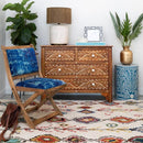 Kilim Wool rug - Botanica Diamonds