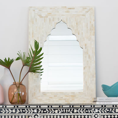 Bone Arch Mirror (Natural)