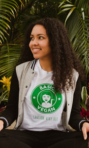 Basic Vegan Starbucks Unisex T-Shirt