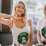 Basic Vegan Starbucks Women's Tank