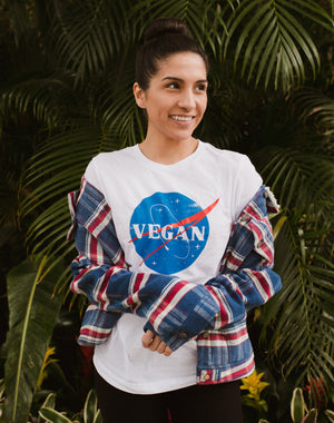 Vegan NASA Unisex T-Shirt
