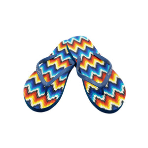 Montana Serape Collection Women's Flip Flops BY CASE (24PCS) - FF-8009
