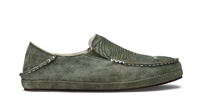 Nohea Slipper | Dusty Olive / Monstera | Image 2