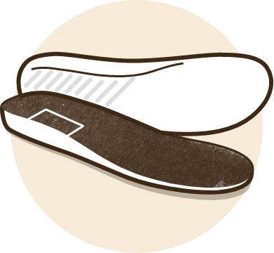 Remove slippers insoles