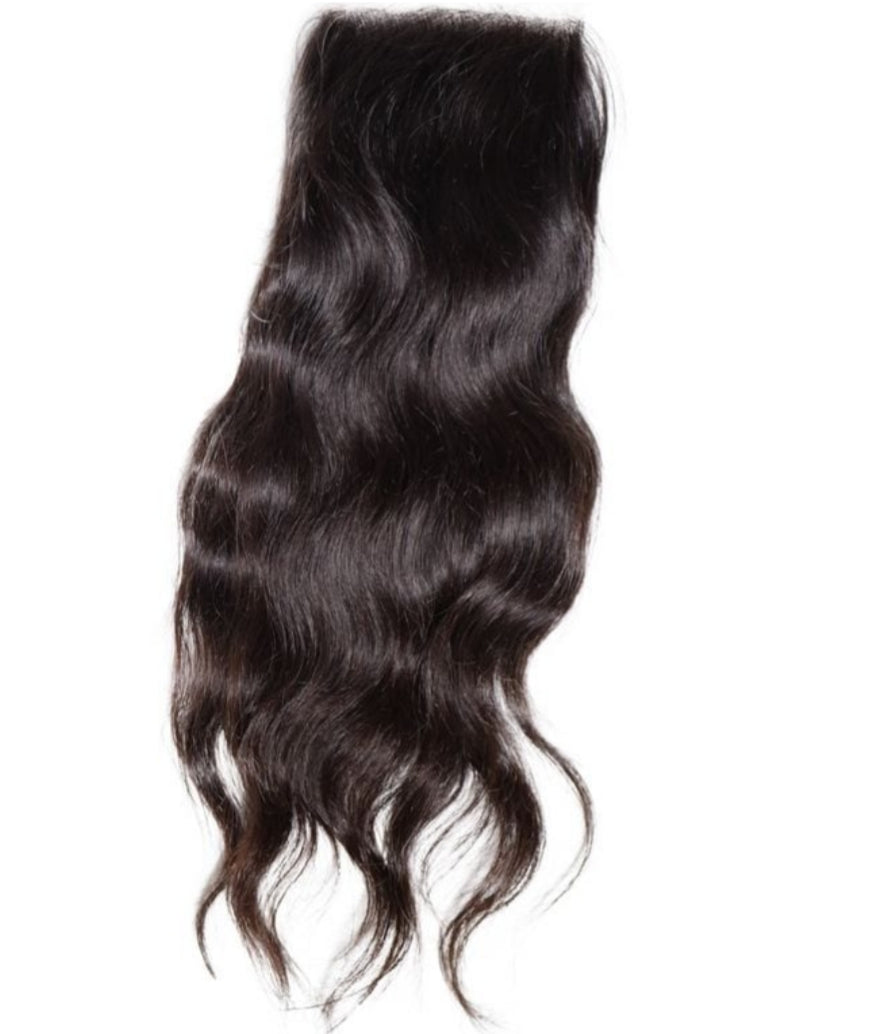 Virgin Indian wavy - Closures - Halo SB Hair
