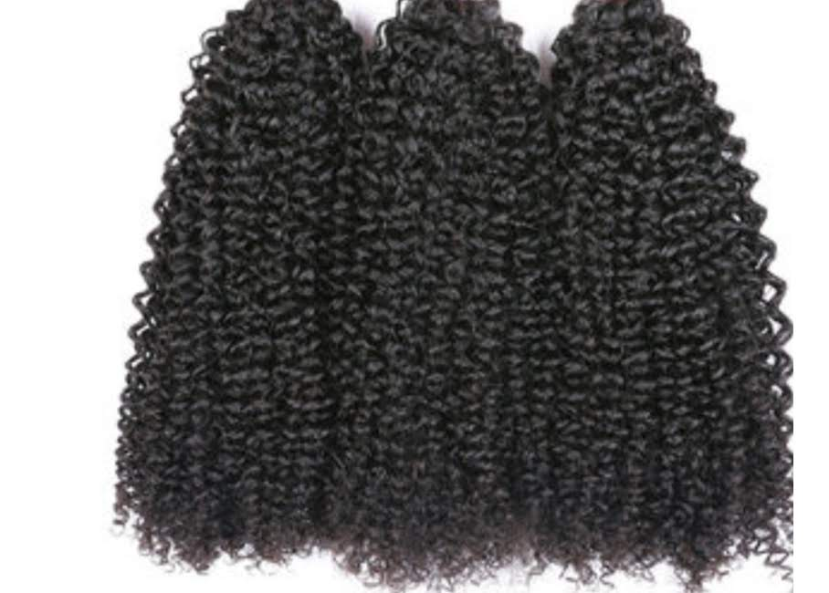 Premium Virgin Indian Kinky Curly - Halo SB Hair
