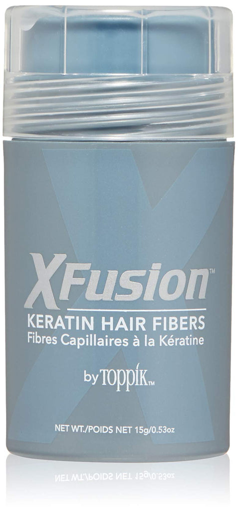 X Fusion Keratin Hair Fibers- Black - Halo SB Hair