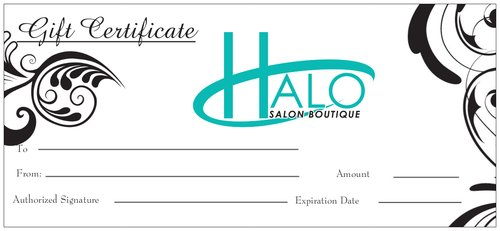 Halo Salon Boutique Gift Certificate - Halo SB Hair